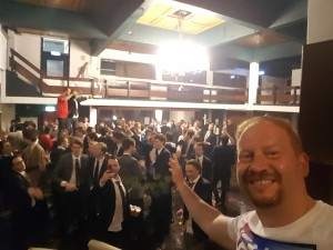 1 uurtje zingen bij Het Rotterdamsch Studentenkorps